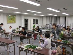 生け花講習会2013_1