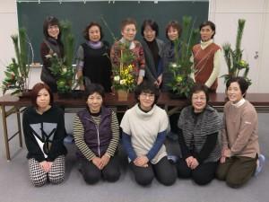 生け花講習会2013/12/25